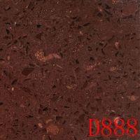 Top quality red spangle engineering quartz stones