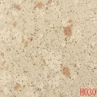 Cream-colored and slightly brown quartz stones