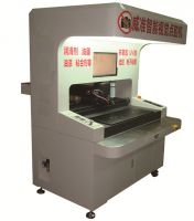 3 Axis Double Station Automatical Paint Coating Machine with Vision System