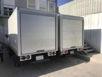 Fire-Proofing Security Rolling Shutter Aluminum Truck Roller Shutter Doors