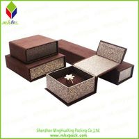 Noble Color Printing Paper Box for Set Jewelry