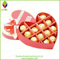 Delicate Paper Gift Packaging Chocolate Box