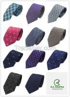 Fashion Accessories Customized Design Mens Silk Woven Neckties