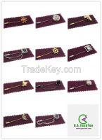 Wholesale Professional Long Needle Metal Custom Brooch Pins