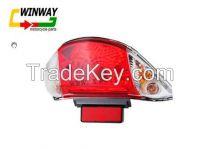 Ww-7109 Wave110 Motorcycle Tail Light, Rear Light,