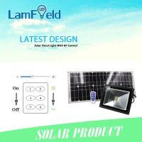 10W Outdoor LED Solar Flood Light with RF Control