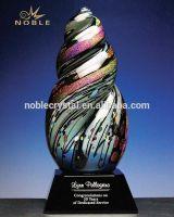 Fashion Hand Blown Glass Trophy Designer Home Decor