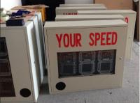low price speed radar sign led display outdoor warning display
