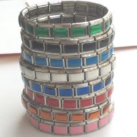 italian charm color bracelets