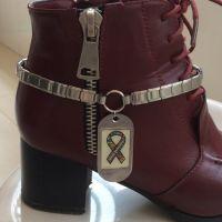 customized italian charm boot bracelet
