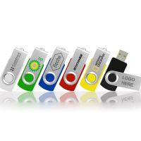 Cheap Swivel metal USB flash drive