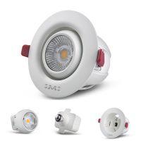 New unique design detachable power source recessed LED downlight