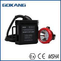 CE ATEX certification mining cap lamp, led miners headlight, safety helmet miners cap lamp