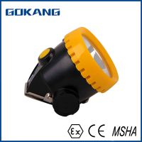 miners cap lamp with Atex certified, LED miners headlamp, Atex certified miners headlight