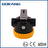 LED cordless miners headlamp, IP 65 mining headlight, Atex certified miners cap lamp of best quality