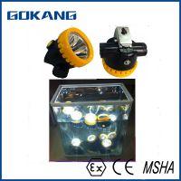 IP65 waterproof miners headlamp, EN certified miners cap lamp