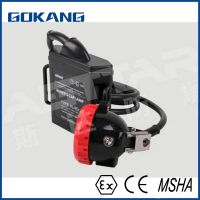 Gokang led miners light, atex certified mining headlight, miners cap lamp made in china
