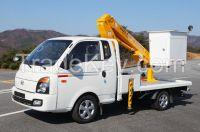 DHS950L Donghae truck mounted aerial work platform mobile manlift