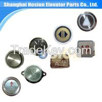 Elevator Spare parts Lift Push Press Touch Button with Braille