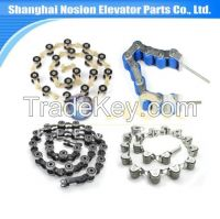 Escalator Step Chain Moving Walkway Partes Steel Roller Rotaty Chain