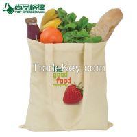 Customized Budget Cotton Canvas Tote Bag Shopping Cotton shoulder bag