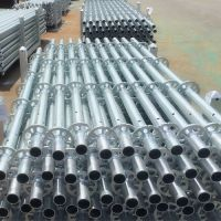 Galvanized Standard for Ringlock System Scaffolding