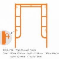 Drop Lock Walk Through Frame Scaffolding
