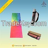 high quality custom designed foldable fabric Yoga Mat