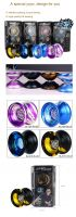 2016 High quality metal yoyo, 4 colors option, christmas gifts
