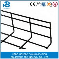 Wire mesh cable tray size