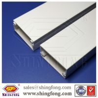 Solid type building material PVC cable trunking