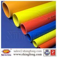 Electrical uv resistant pvc conduit