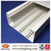 Compartment PVC Cable Duct/PVC trunking for Electrical