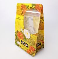 Eight Side Sealed Packaging Bag Resealable Printed Snack Food Packaging Bag