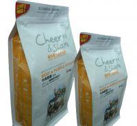 Customized zipper top pet food bag