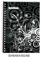 Spiral Notebook With Printing Hard Cover