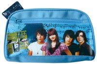 Pencil Case with Two Side Zipper Compartment