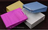 colorful glitter paper bag