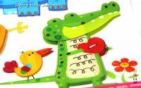 2016 hot sale customerized cartoon style Multi-Layer sticker for kids