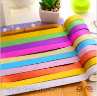 2016 popular differenet colors glitter paper for gift wrapping