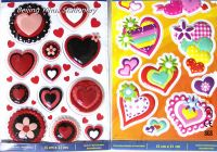 2017 most popular different style 3D sticker for kids or students