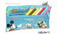 PVC plastic zipper School Pencil case