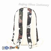 Camping hiking backpack polyester outdoor travel  backpack