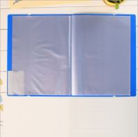 New student stationery supplies booklet/office file folder, book inserts folder