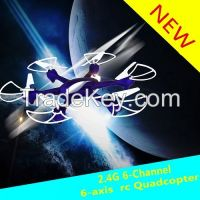 Ck-15 2.4g 6-channel 6-axis Middle Scale Headless Mode Rc Quadcopter