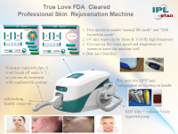 IPL Beauty Machine (CE, ISO and FDA)