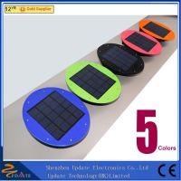Portable 7led solar powered light 300lm motion sensor solar panel light for outdoor garden