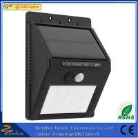 Super bright 16LED Solar Battery Powered Motion PIR Sensor Outdoor LED solar wall Lighting