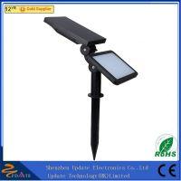48 LED solar powered spot light outdoor wall lamp for garden