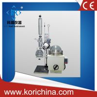 China factory price for 1L, 2L, 5L, 10L, 20L, 50L jacketed glass rotary evaporator with PTFE sealing